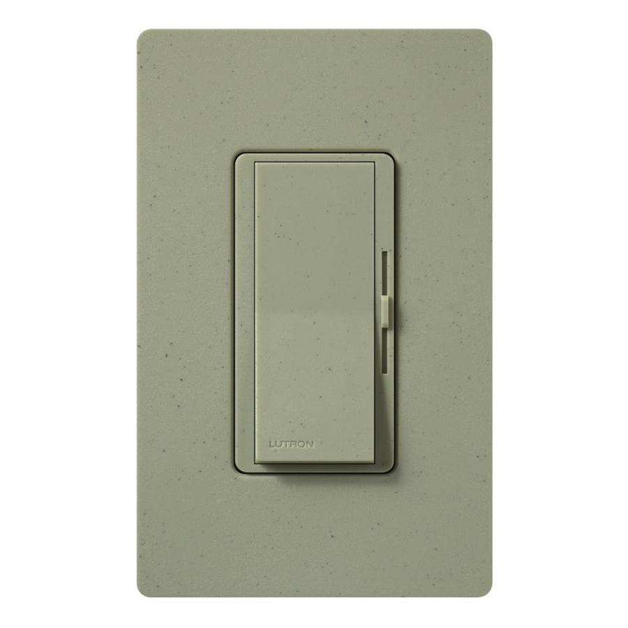 Lutron Diva 600-Watt 3-Way Single Pole Greenbriar Indoor Slide Dimmer