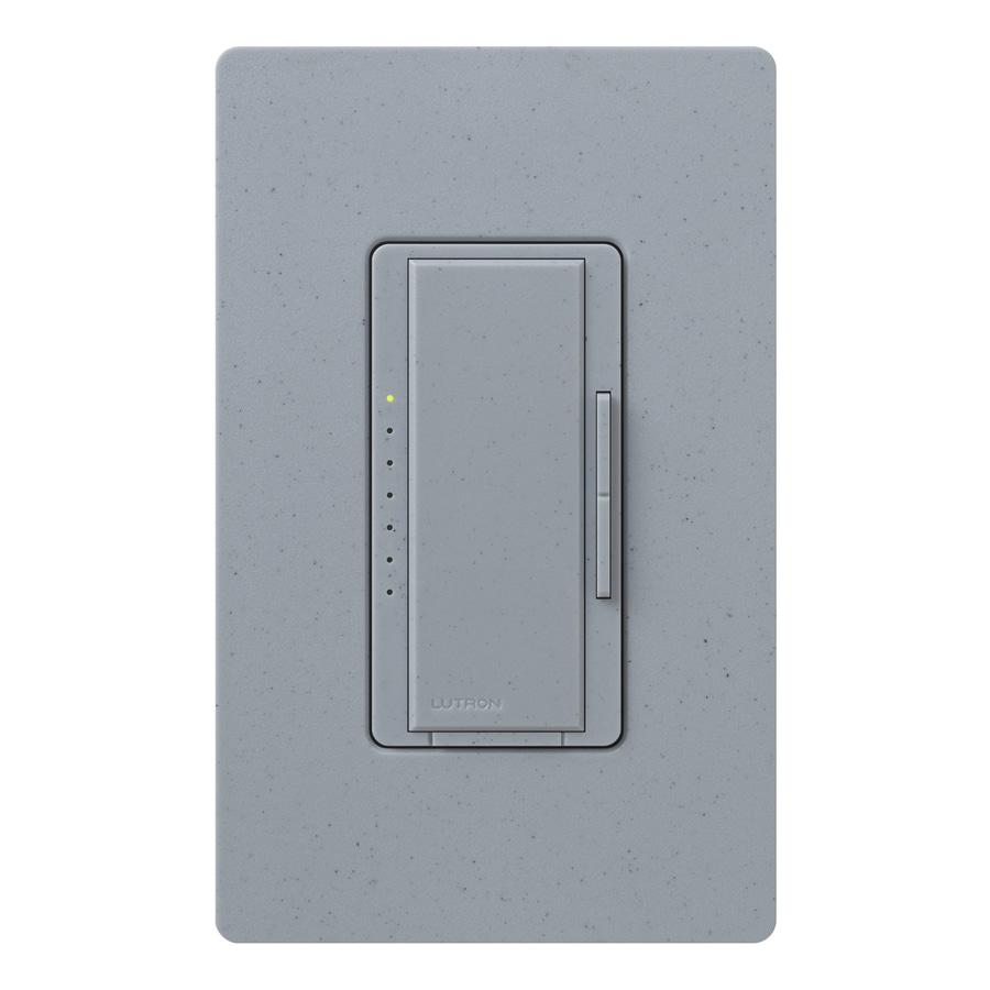 Lutron Maestro 1,000-Watt Single Pole Bluestone Indoor Touch Dimmer