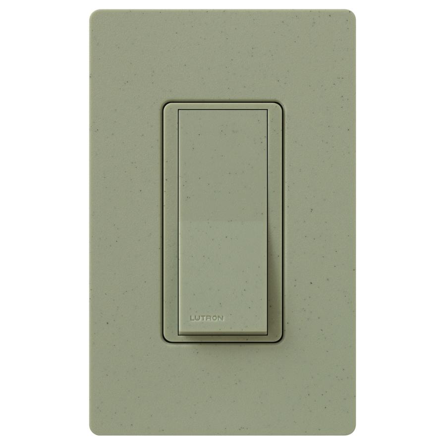 Lutron Claro 15-Amp 4-Way Greenbriar Indoor Push Light Switch