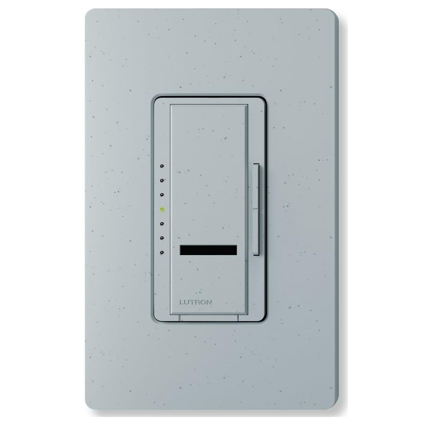 Lutron Maestro IR 600-Watt Single Pole Wireless Bluestone Indoor Remote Control Dimmer