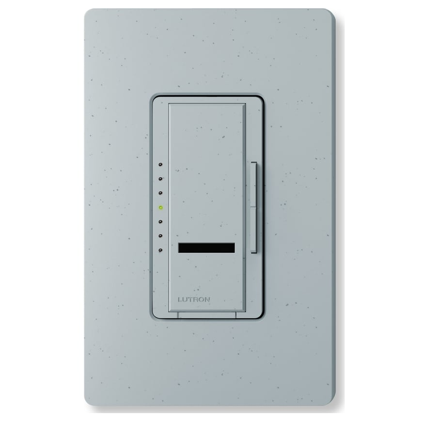 Lutron Maestro IR 800-Watt Single Pole Wireless Bluestone Indoor Remote Control Dimmer