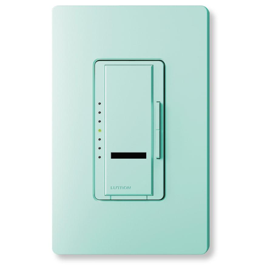 Lutron Maestro IR 800-Watt Single Pole Wireless Plum Indoor Remote Control Dimmer