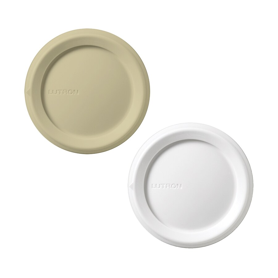 Lutron Rotary 2-Pack White/Ivory Replacement Rotary Knobs