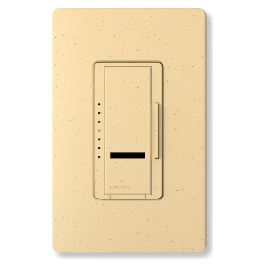 Lutron Maestro IR 800-Watt Single Pole Wireless Goldstone Indoor Remote Control Dimmer