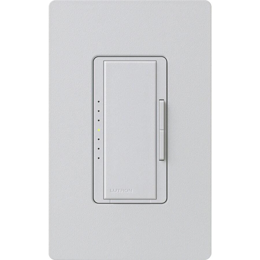 Lutron Maestro 1,000-Watt Single Pole Palladium Indoor Touch Dimmer