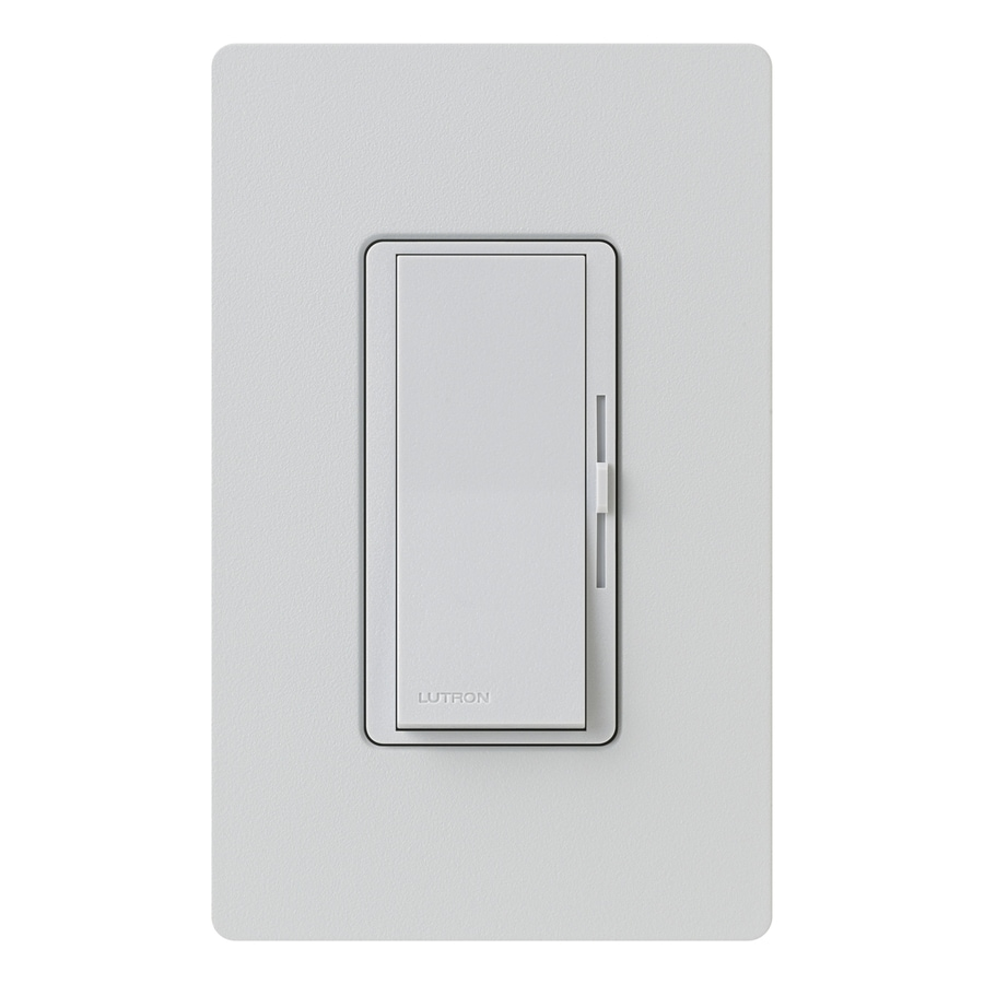 Lutron Diva 1,000-Watt 3-Way Single Pole Palladium Indoor Slide Dimmer