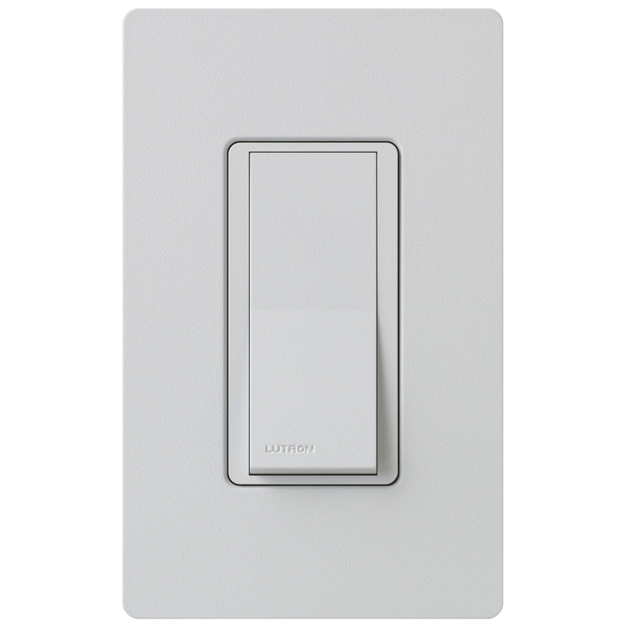 Lutron Claro 15-Amp 3-Way Double Pole Palladium Indoor Push Light Switch