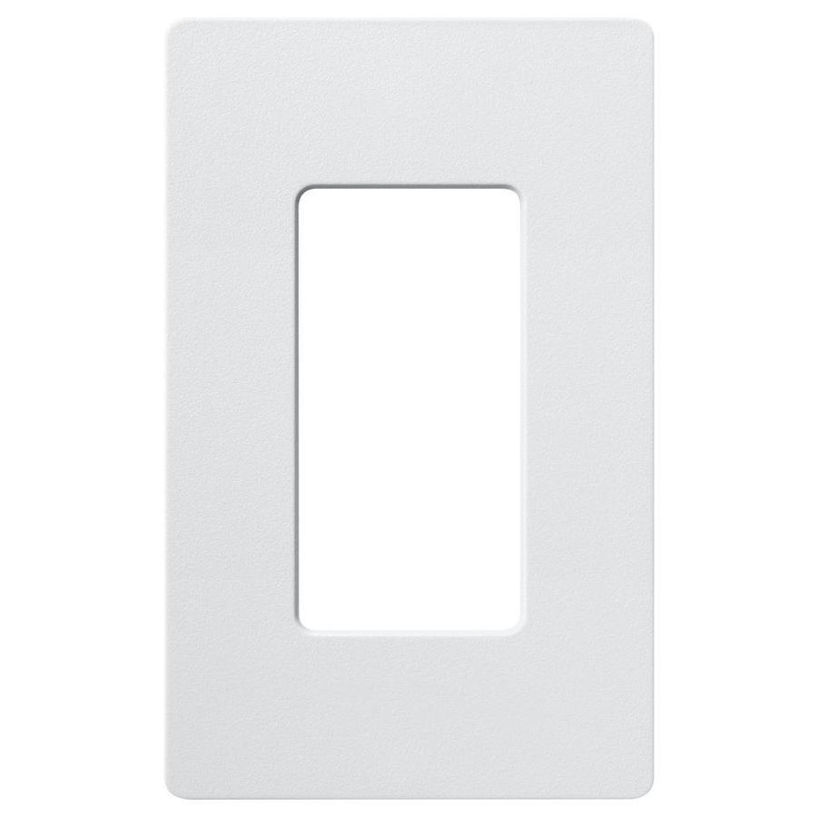 Lutron Claro 1-Gang Palladium Single Decorator Wall Plate