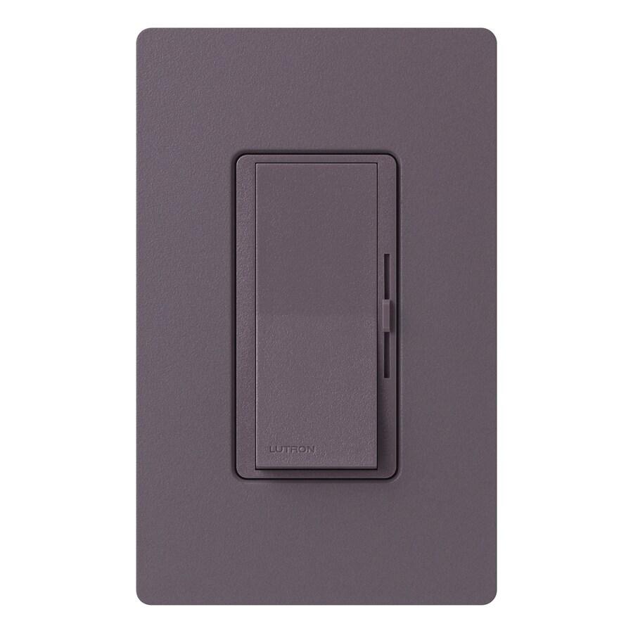 Lutron Diva 3-Speed 1.5-Amp Plum Indoor Slide Fan Control