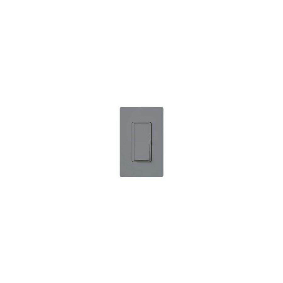 Lutron Diva 600-Watt 3-Way Single Pole Gray Indoor Slide Dimmer