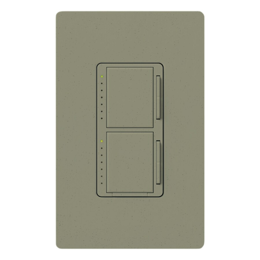 Lutron Maestro 300-Watt Single Pole Greenbriar Indoor Touch Dimmer
