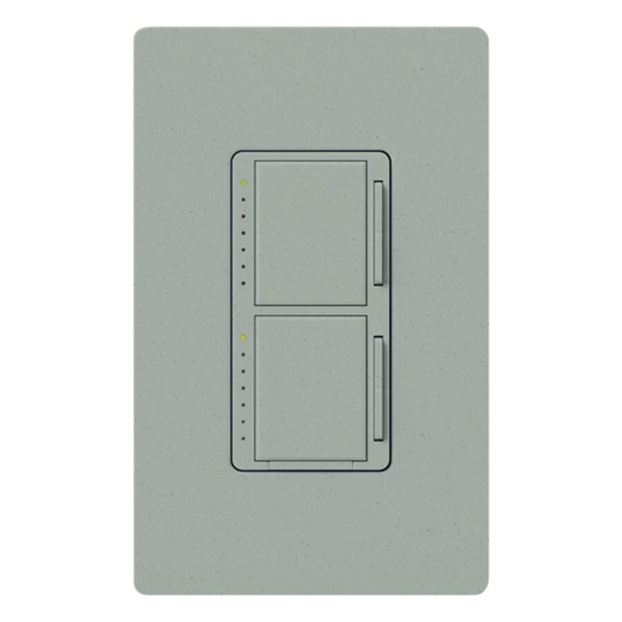 Lutron Maestro 300-Watt Single Pole Bluestone Indoor Touch Dimmer