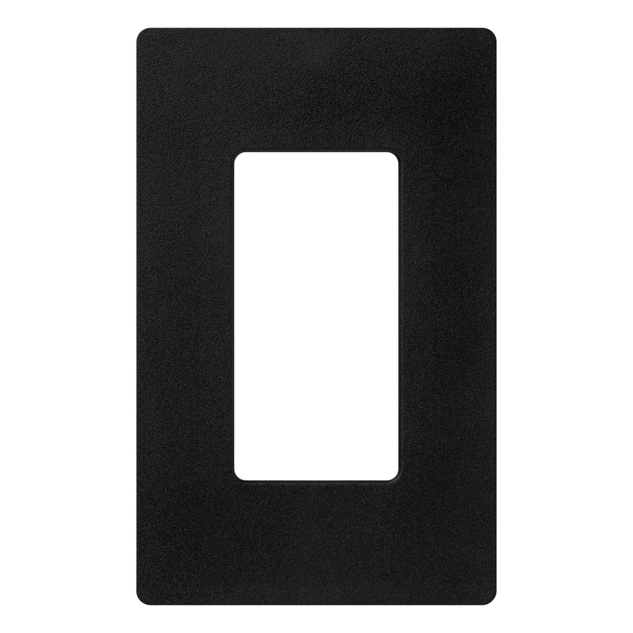 Lutron Claro 1-Gang Midnight Single Decorator Wall Plate