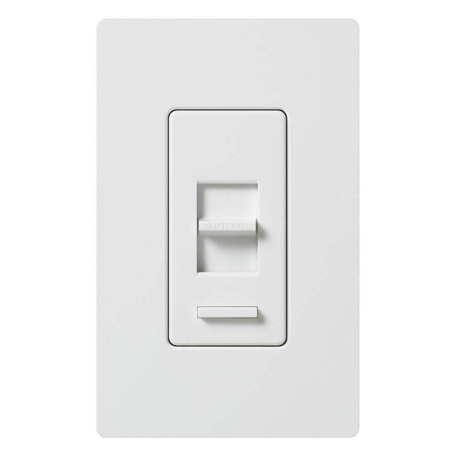 Lutron Lumea 3-Speed 5-Amp White Indoor Slide Fan Control