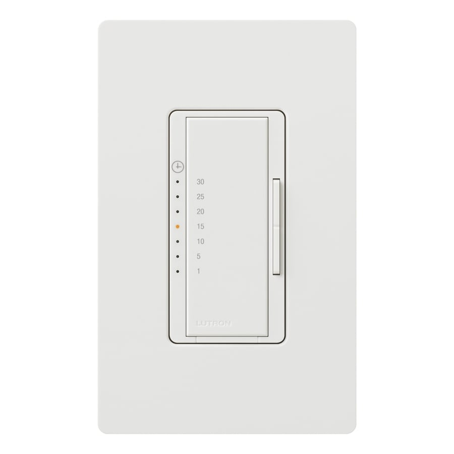 Lutron White Light Switch