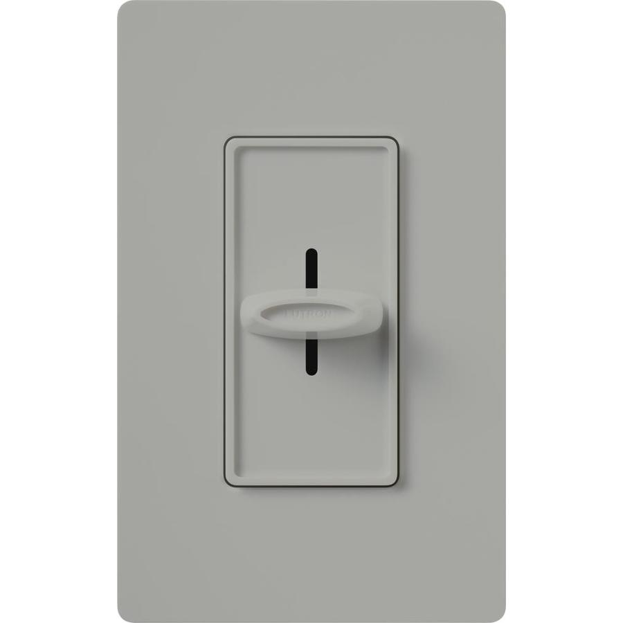 Lutron Skylark Fully Variable 5-Amp Gray Indoor Slide Fan Control