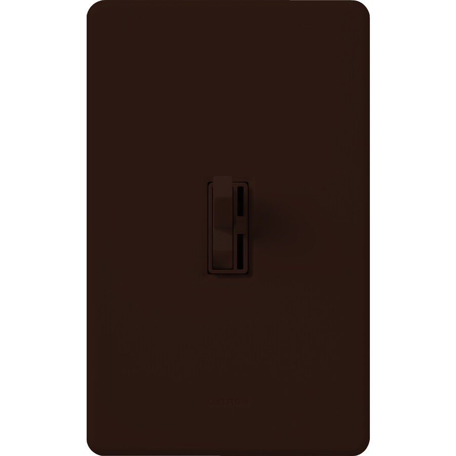 shop lutron ariadni toggler 1 switch 1 000 watt 3 way double pole brown indoor toggle dimmer at. Black Bedroom Furniture Sets. Home Design Ideas
