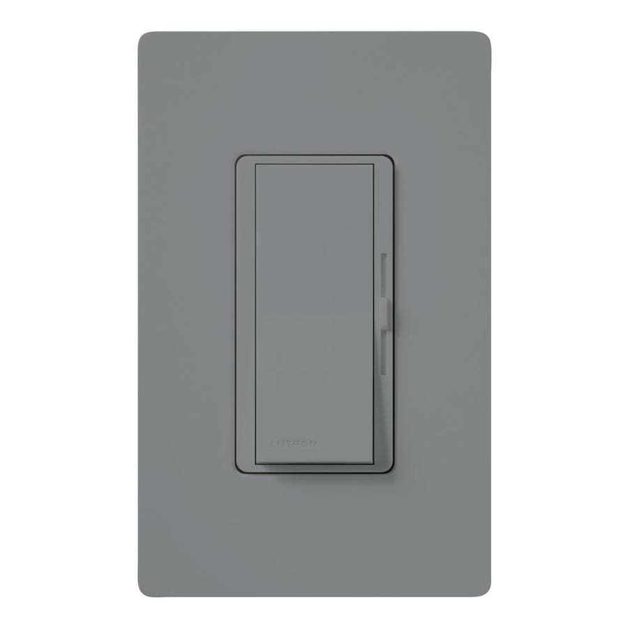 Lutron Diva 1,000-Watt Single Pole Gray Indoor Slide Dimmer
