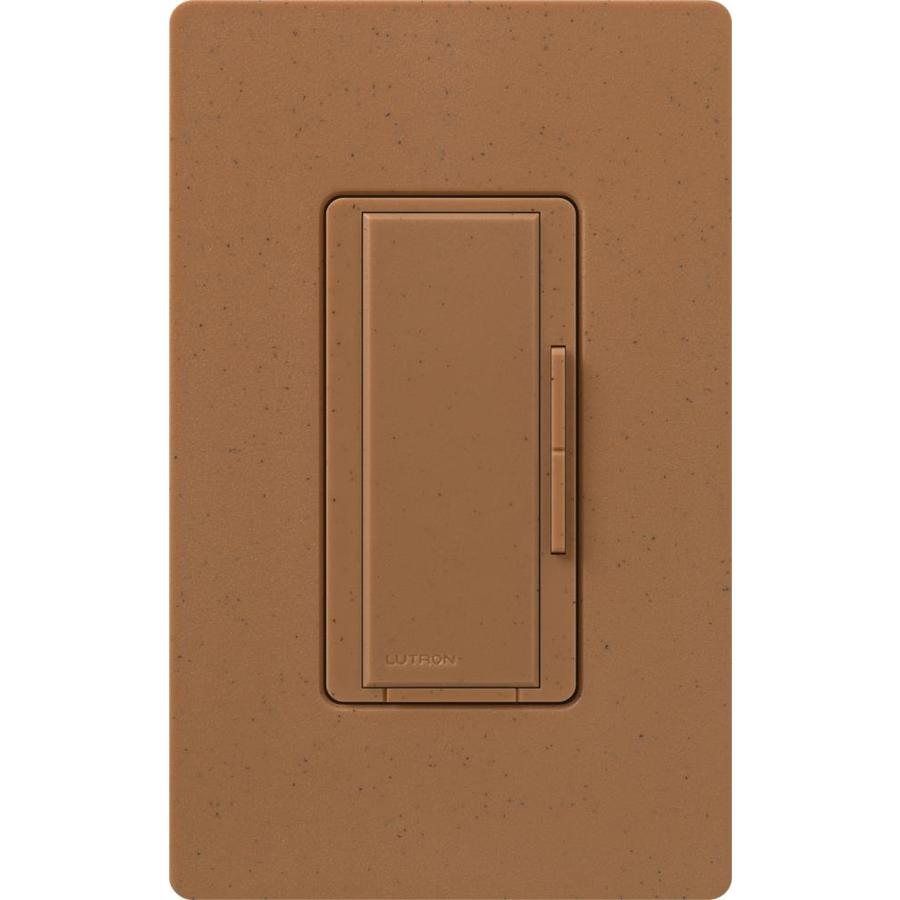 Lutron Maestro 1,000-Watt 3-Way 4-Way Terracotta Indoor Tap Dimmer