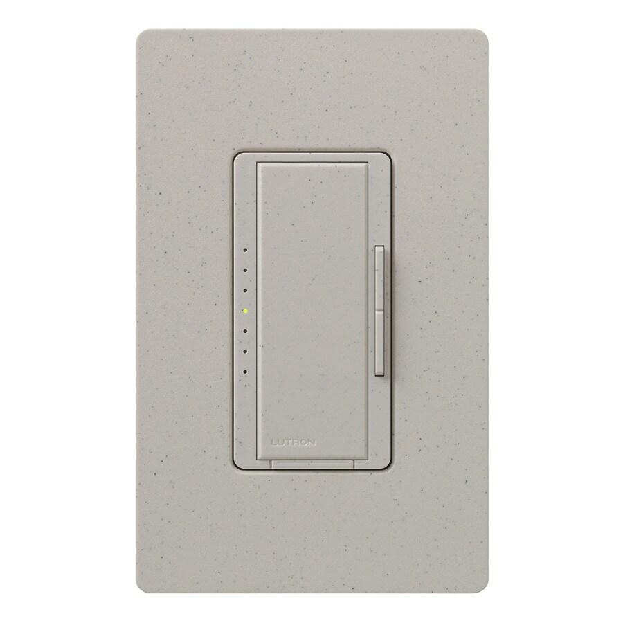 Lutron Maestro 1,000-Watt 3-Way 4-Way Double Pole Stone Indoor Tap Dimmer