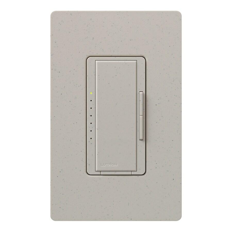 Lutron Maestro 600-Watt 3-Way 4-Way Double Pole Stone Indoor Tap Dimmer