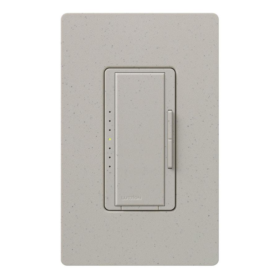 Lutron Maestro 450-Watt 3-Way 4-Way Double Pole Stone Indoor Tap Dimmer