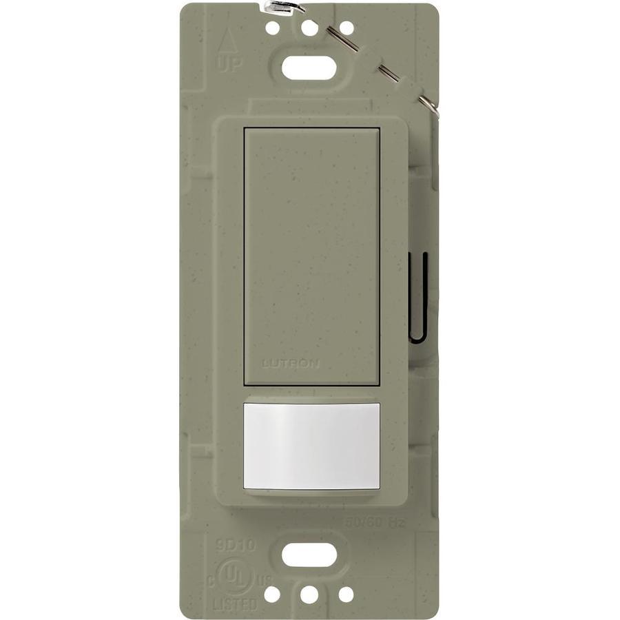 Lutron Maestro 2-Amp Single Pole Greenbriar Indoor Motion Occupancy/Vacancy Sensor