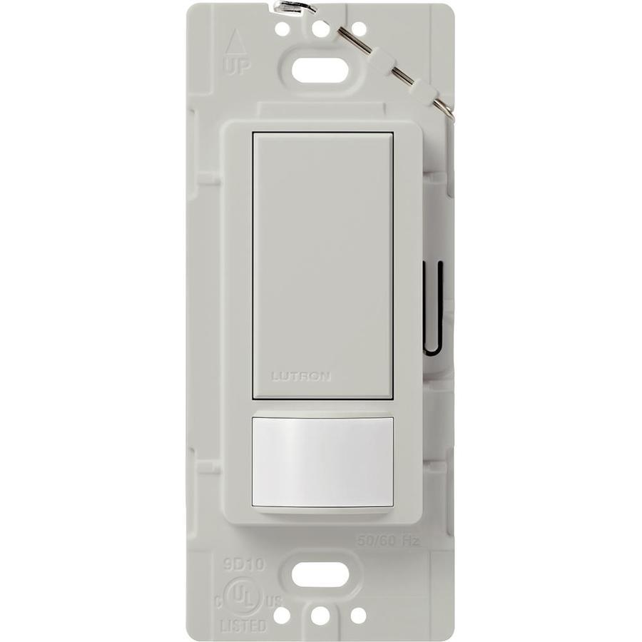 Lutron Maestro 2-Amp Single Pole Palladium Indoor Motion Occupancy/Vacancy Sensor