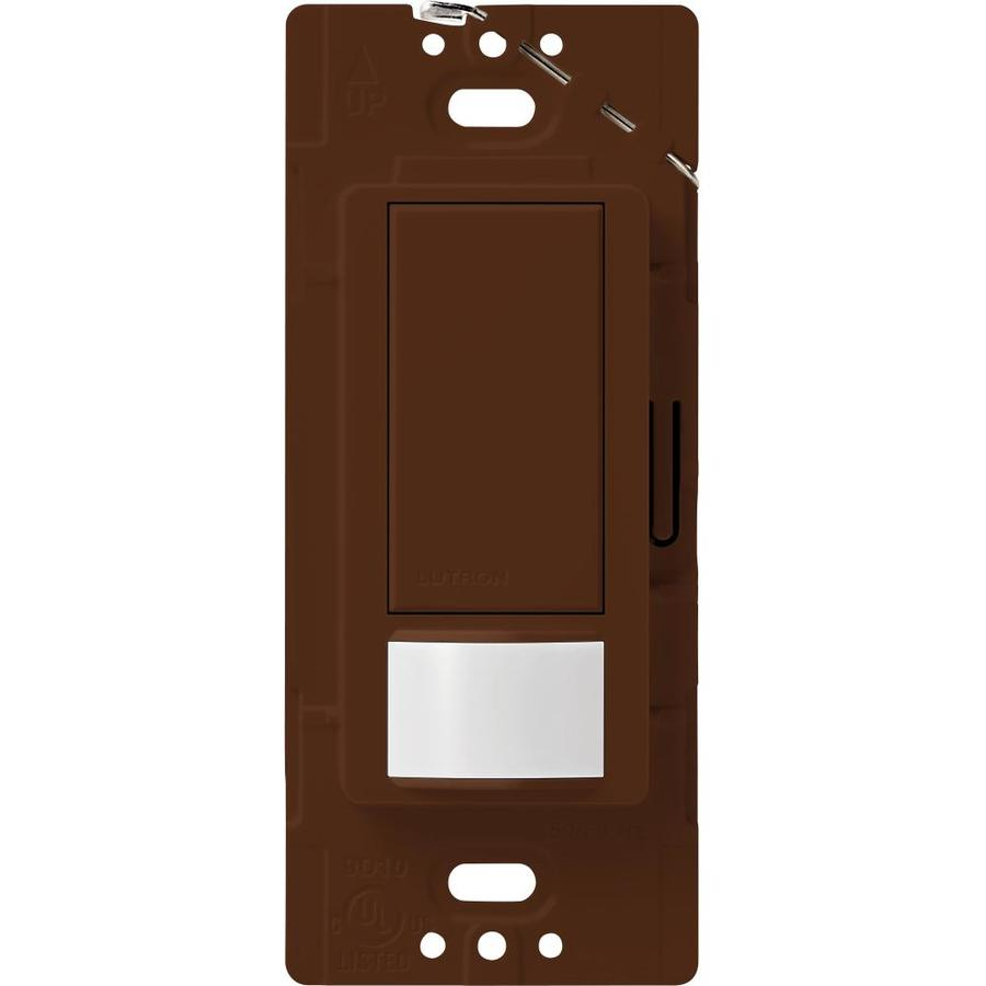 Lutron Maestro 2-Amp Single Pole Sienna Indoor Motion Occupancy/Vacancy Sensor