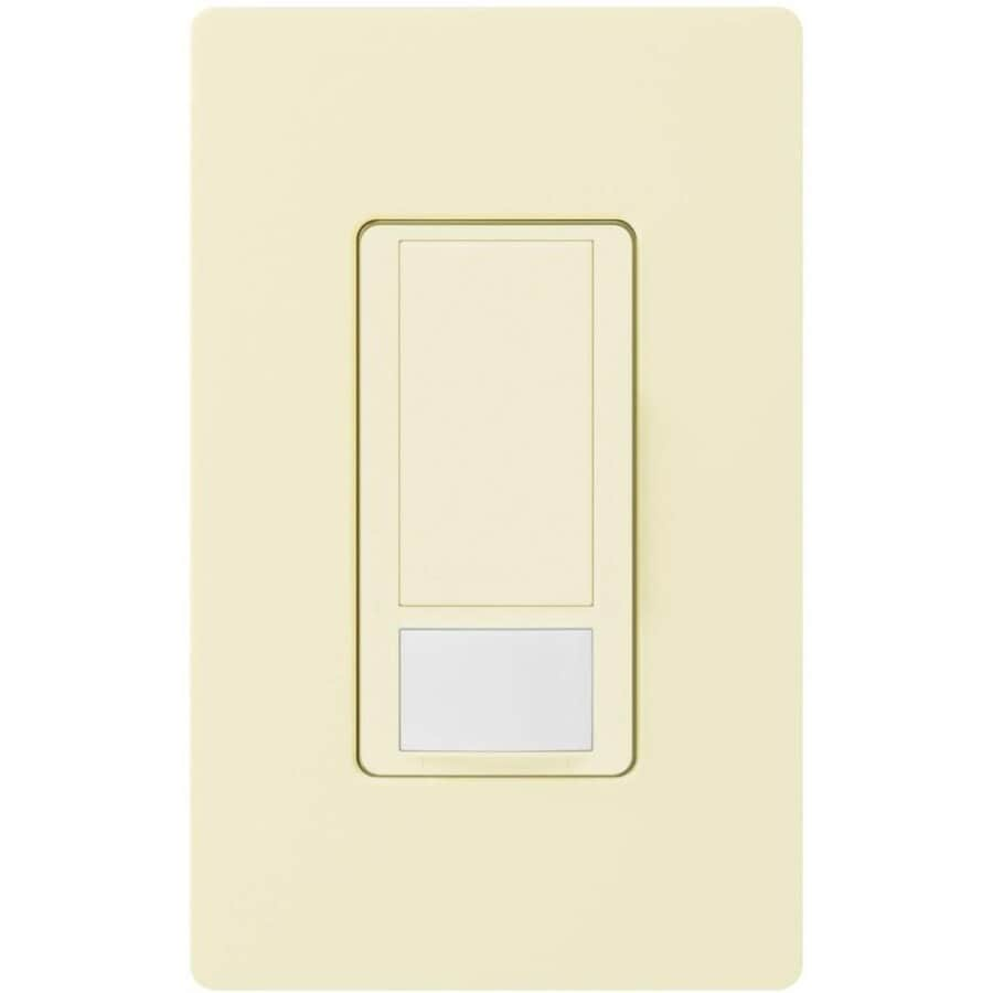 Lutron Maestro 2-Amp Single Pole Almond Indoor Motion Occupancy/Vacancy Sensor