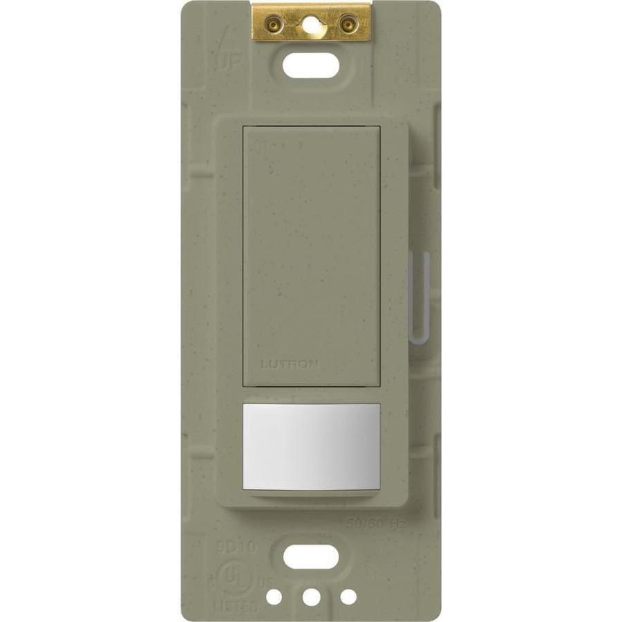Lutron Maestro 5-Amp 3-Way Double Pole Greenbriar Indoor Motion Occupancy/Vacancy Sensor