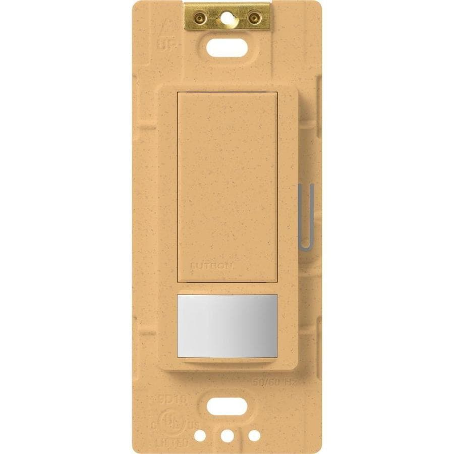 Lutron Maestro 5-Amp 3-Way Double Pole Goldstone Indoor Motion Occupancy/Vacancy Sensor
