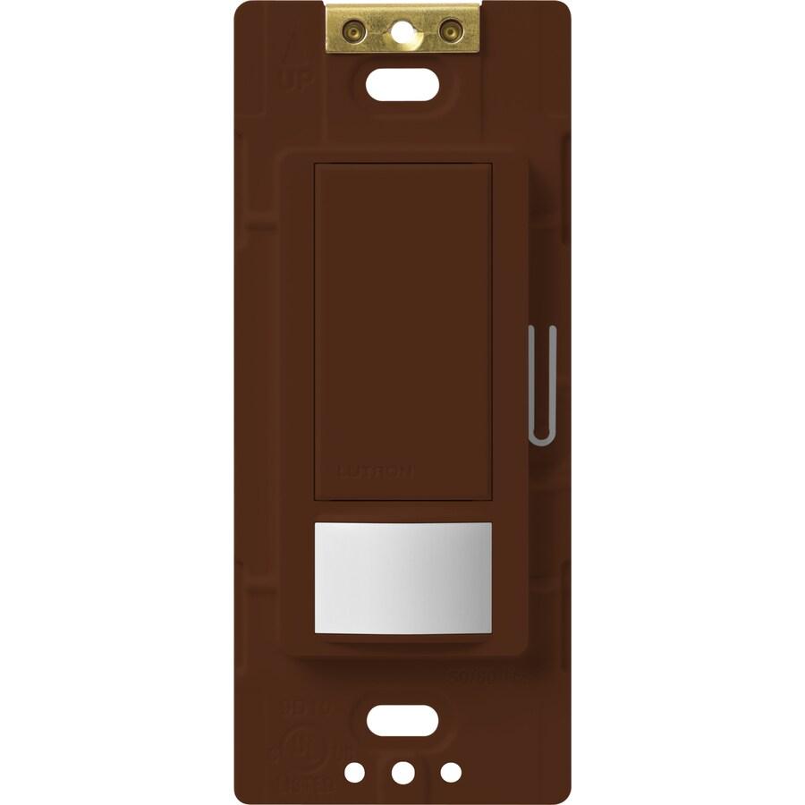 Lutron Maestro 5-Amp 3-Way Double Pole Sienna Indoor Motion Occupancy/Vacancy Sensor