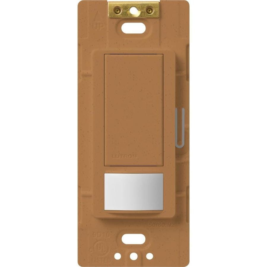 Lutron Maestro 5-Amp 3-Way Double Pole Terracotta Indoor Motion Occupancy/Vacancy Sensor