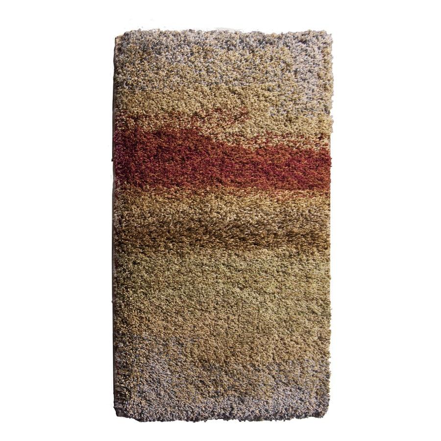 Orian Rugs Emerge Cream Rectangular Indoor Woven Throw Rug (Common: 2 x 4; Actual: 23-in W x 39-in L)
