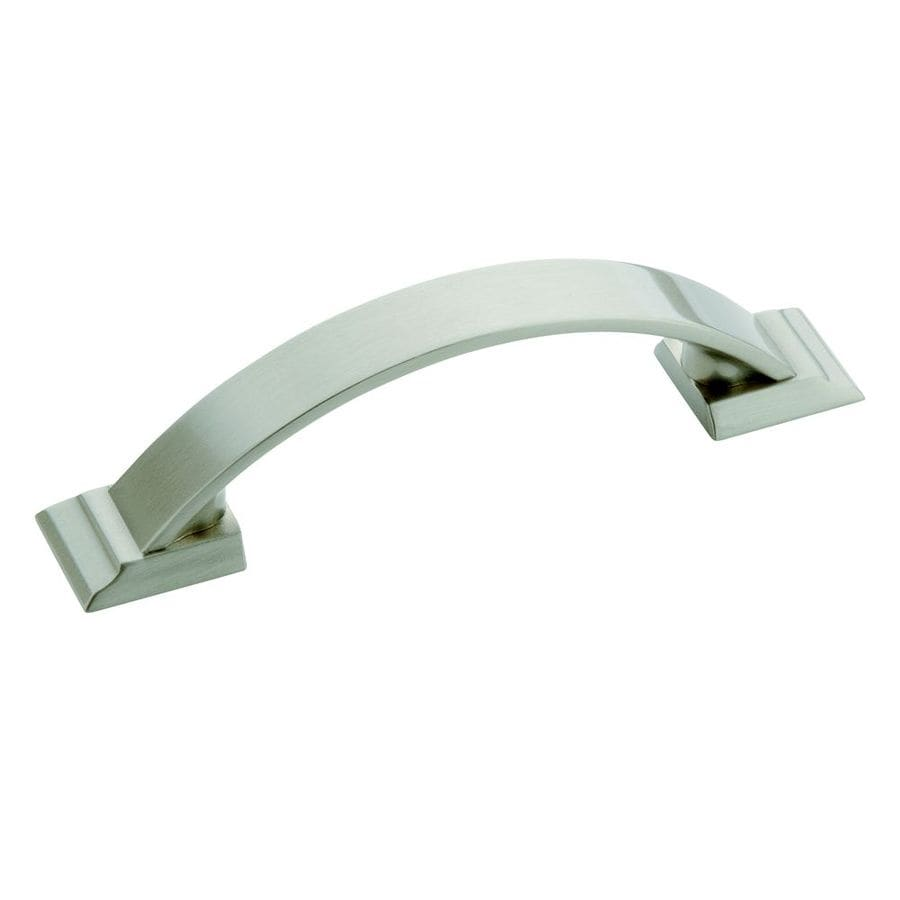 Amerock 3-in Center-to-Center Satin Nickel Candler Bar Cabinet Pull