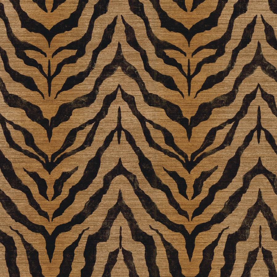 Shop imperial brown peelable vinyl prepasted classic for Peelable wallpaper