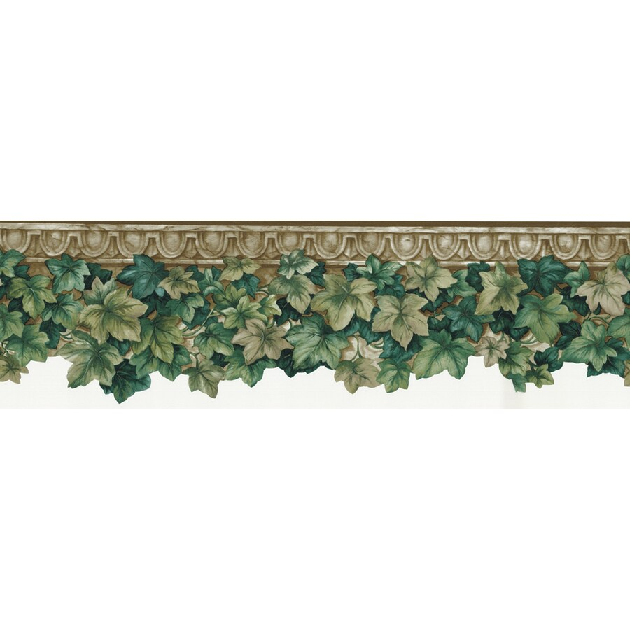 allen + roth 6.5-in Green Prepasted Wallpaper Border