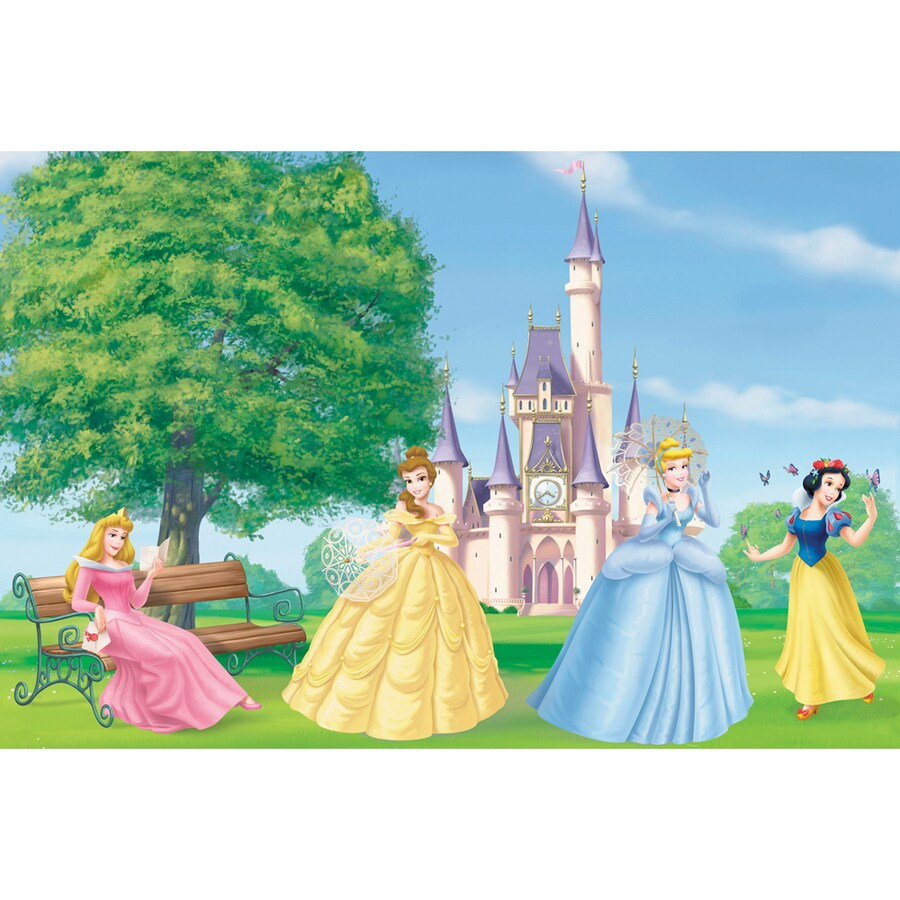 Shop disney outdoor princess mural at for Disney princess mini mural