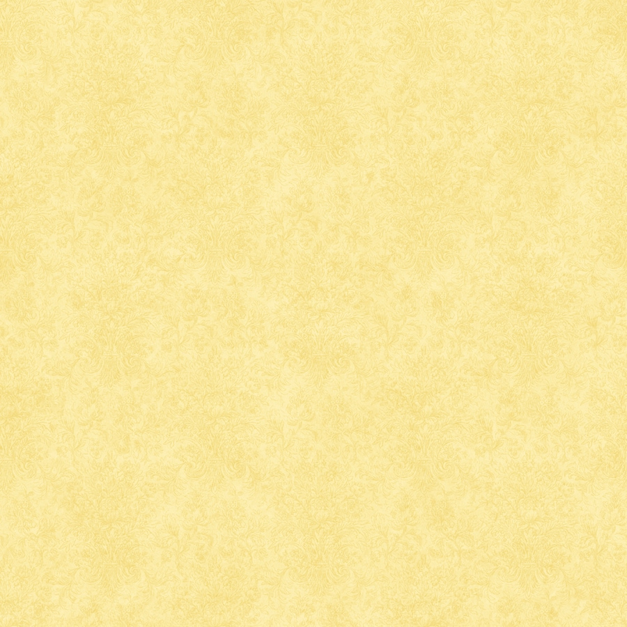 Shop allen roth yellow peelable vinyl prepasted for Prepasted wallpaper