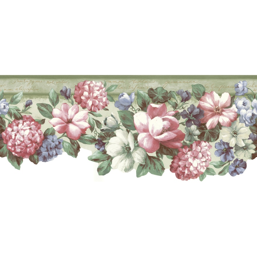 "Shop Allen + Roth 8-1/2"" Green Architectural Floral"