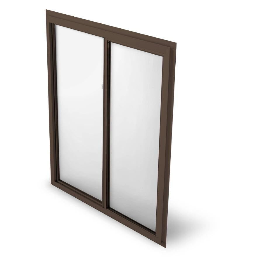BetterBilt 875 Series Left-Operable Aluminum Double Pane Single Strength New Construction Sliding Window (Rough Opening: 36-in x 48-in; Actual: 47.25-in x 35.5-in)