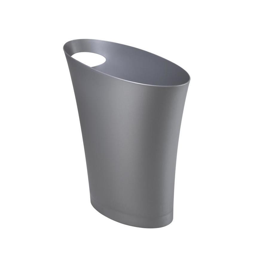 Umbra Skinny 7.5 Liters Silver Plastic Trash Can