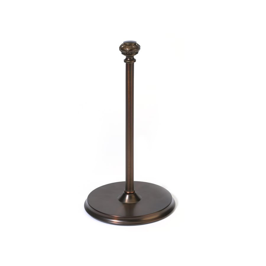 Style Selections Bronze Metal Freestanding Paper Towel Holder