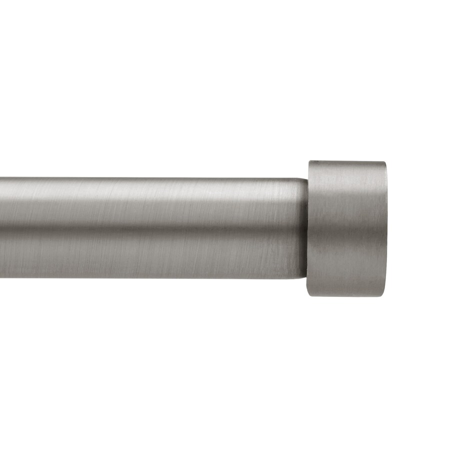 Umbra 3-Pack 62-in to 120-in Pewter Steel Single Curtain Rod