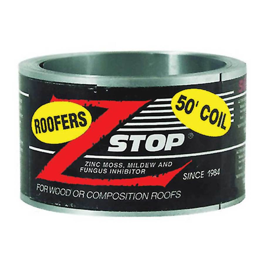 Construction Metals Inc. Z Stop 0.21-ft W x 50-ft L 10.4-sq ft Silver Roll Roofing
