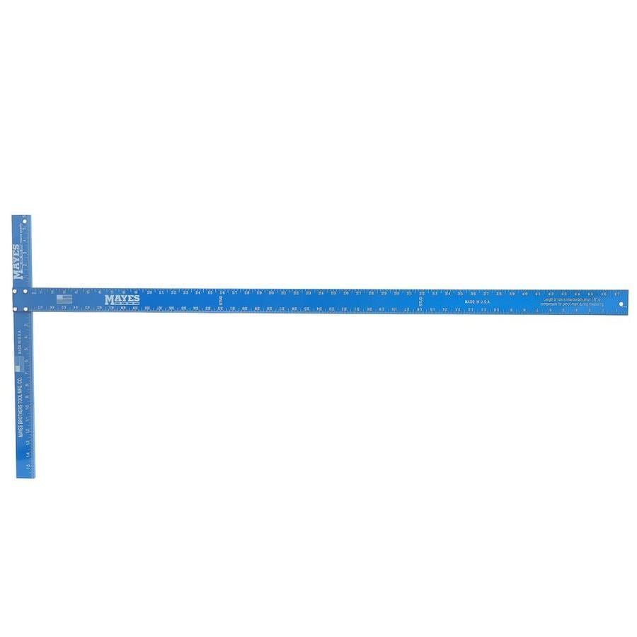 Mayes 48-in Lightweight Blue Wallboard Square