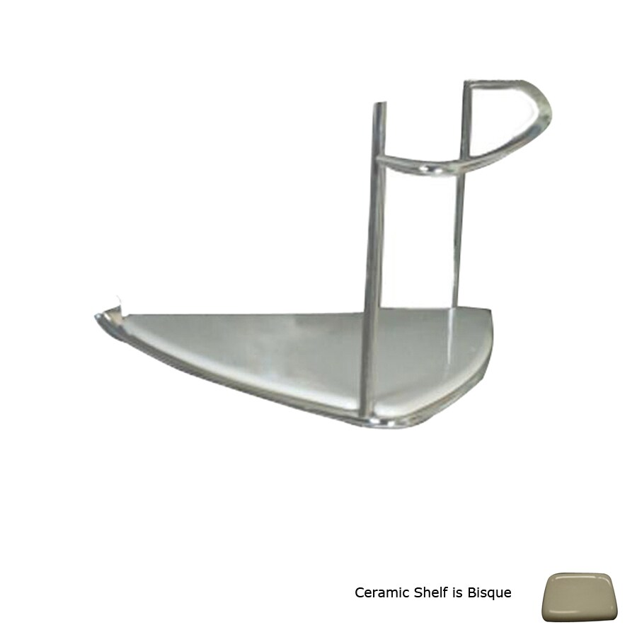 Barclay Rondelle Chrome Rack Towel Bar (Common: 24-in; Actual: 24.75-in)