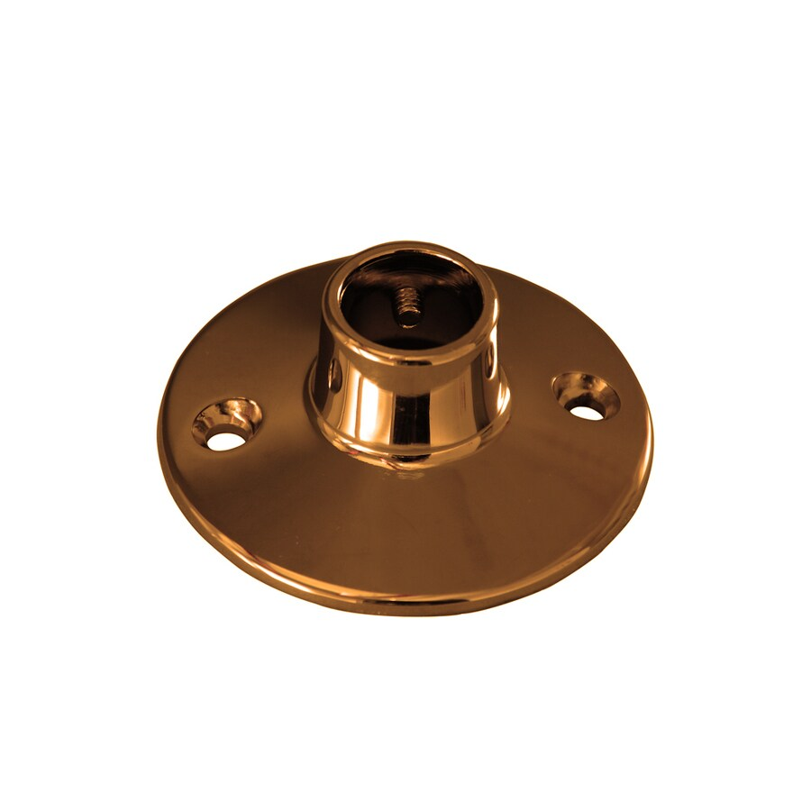 Barclay Polished Brass Flanges
