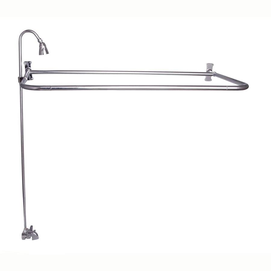 Shop Barclay Polished Chrome 2 Handle Bathtub And Shower